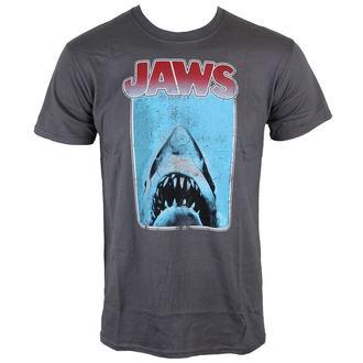 tričko pánske Jaws - Poster - Charcoal - INDIEGO, INDIEGO, ČELISTI
