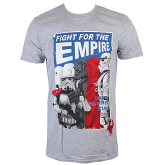 tričko pánske Star Wars - Fight For The Empire - Charcoal - INDIEGO, INDIEGO