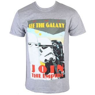 tričko pánske Star Wars - Join The Empire - Charcoal - INDIEGO, INDIEGO