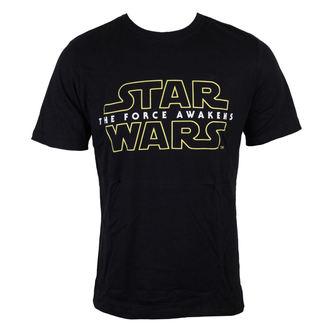 tričko pánske Star Wars - Star Wars VII - The Force Awakens Logo - Black - INDIEGO, INDIEGO, Star Wars