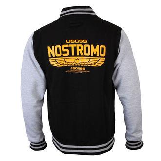 mikina pánska Alien - USCSS Nostromo - Black/Grey, NNM, Alien - Vetřelec