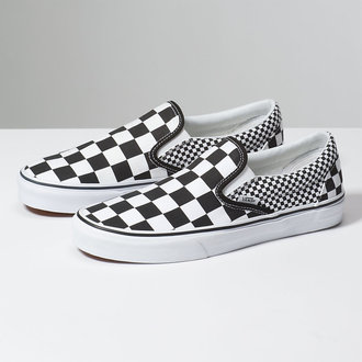 topánky VANS - UA CLASSIC SLIP-ON (MIX CHECKER), VANS