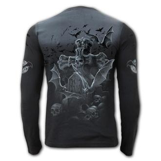 tričko pánske s dlhým rukávom SPIRAL - NIGHTSHIFT - E028M324