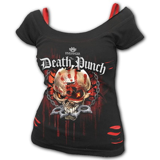 batoh Five Finger Death Punch - Wotf - Black - BRAVADO