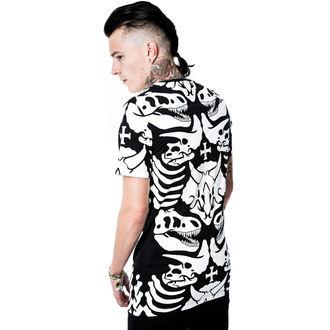 tričko (unisex) KILLSTAR - Dino - Black, KILLSTAR
