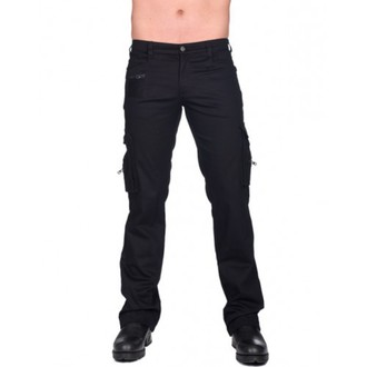 nohavice pánske BLACK PIŠTOL - Combat Pants Denim - (Black), BLACK PISTOL