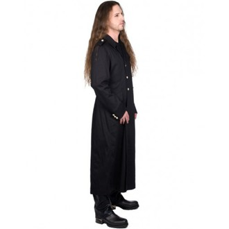 kabát pánsky BLACK PIŠTOL - Army Coat Denim - BLACK, BLACK PISTOL