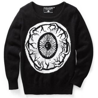 sveter (unisex) KILLSTAR - My Eye - Black