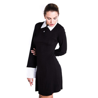šaty dámske KILLSTAR - Addams - Black - KIL012