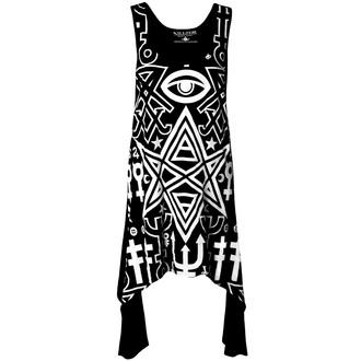 šaty dámske KILLSTAR - Thelema - Black, KILLSTAR