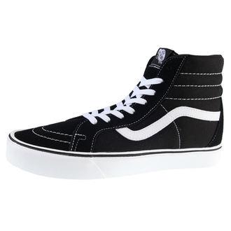 topánky pánske VANS - U SK8-Hi Lite (Suede / Canvas) - BLACK/WHITE, VANS