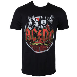 tričko pánske AC/DC - Band Circle - PLASTIC HEAD, PLASTIC HEAD, AC-DC
