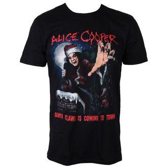 tričko pánske Alice Cooper - Santa Claws - ROCK OFF, ROCK OFF, Alice Cooper