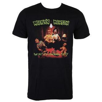 tričko Marilyn Manson - American Family - ROCK OFF - MMTS03MB