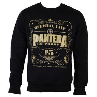 mikina pánska Pantera - 101 Proof - ROCK OFF, ROCK OFF, Pantera