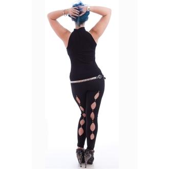 tielko dámske NECESSARY EVIL - Shala Keyhole - Black, NECESSARY EVIL