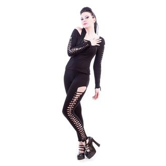 nohavice dámske (legíny) NECESSARY EVIL - Terra Slashed - Black