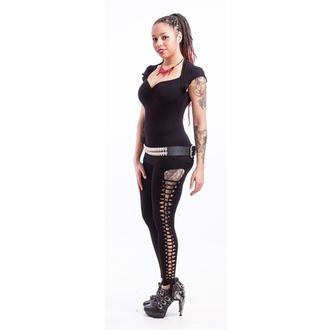 nohavice dámske (legíny) NECESSARY EVIL - Terra Slashed - Black, NECESSARY EVIL