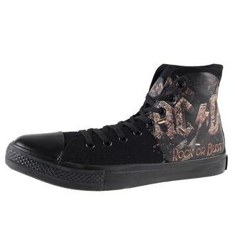 topánky AC/DC - Rock Or Bust - Black - F.B.I.., F.B.I., AC-DC