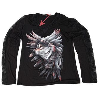 tričko dámske s dlhým rukávom SPIRAL - Spirit Of The Wolf - POŠKODENÉ, SPIRAL