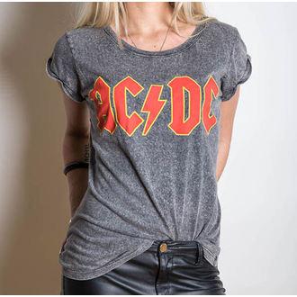tričko dámske AC/DC - Classic Logo - ROCK OFF - ACDCTS23LAW