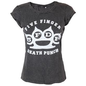 tričko dámske Five Finger Death Punch - Knuckleduster - ROCK OFF, ROCK OFF, Five Finger Death Punch
