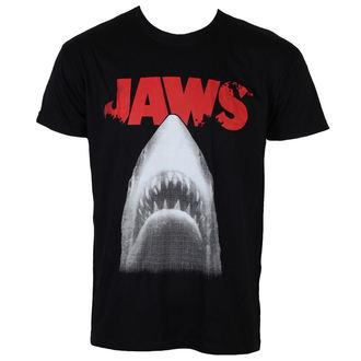 tričko pánske Čeľuste - Poster - Black - HYBRIS, HYBRIS, ČELISTI