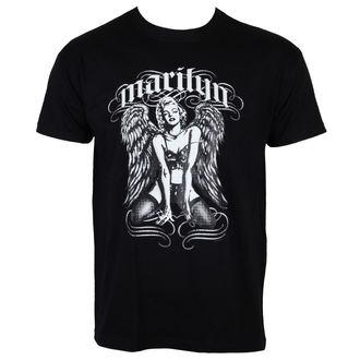 tričko pánske Marilyn Monroe - Cool Angel - Black - HYBRIS