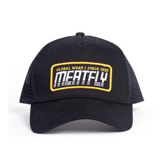 šiltovka MEATFLY - Garage trucker - C-Black, MEATFLY