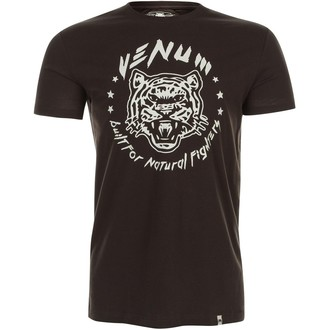 tričko pánske VENUM - Natural Fighter - Tiger - Brown, VENUM