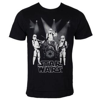 tričko pánske Star Wars - Group Of Trooper - Black - LEGEND, LEGEND