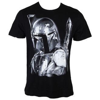 tričko pánske Star Wars - Boba Fett Silver Millar - Black - LEGEND, LEGEND