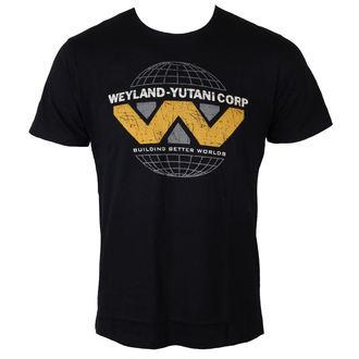 tričko pánske Alien - Weyland Yutani Logo - Black - LEGEND, LEGEND, Alien - Vetřelec