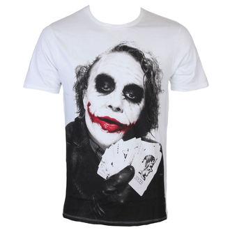 tričko pánske Batman - Joker Poker - White - LEGEND - METDKTMTS003