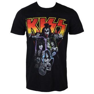 tričko pánske KISS - Neon Band - PLASTIC HEAD, PLASTIC HEAD, Kiss