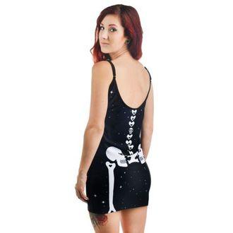 šaty dámske TOO FAST - Bettie - Heart Bones, TOO FAST