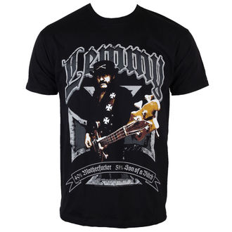 tričko pánske Motörhead - Lemmy Iron Cross 49 percent - ROCK OFF