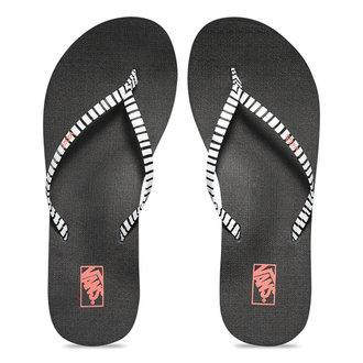 sandále dámske VANS - Malta Print - Just Stripes - Black/White