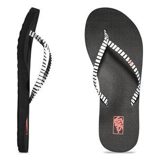 sandále dámske VANS - Malta Print - Just Stripes - Black/White, VANS