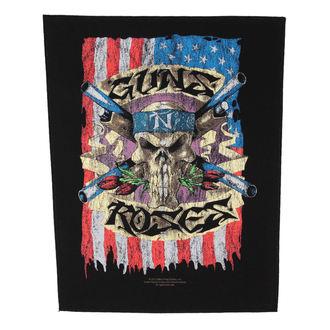 nášivka veľká Guns n Roses - Flag - RAZAMATAZ, RAZAMATAZ, Guns N' Roses