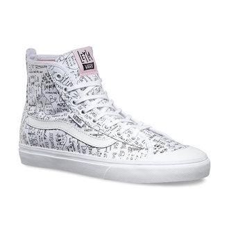 topánky dámske VANS - Dazio-HI (Leila) TR - Wht / Barely Pink, VANS