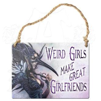 ceduľka ALCHEMY GOTHIC - Weird Girls Make Great Priateľka