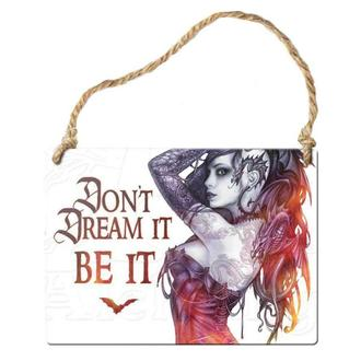 ceduľka ALCHEMY GOTHIC - Don´t Dream It Be It, ALCHEMY GOTHIC