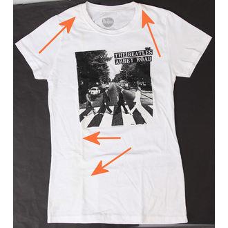 tričko dámske Beatles - Abbey Road - BRAVADO - POŠKODENÉ, BRAVADO, Beatles