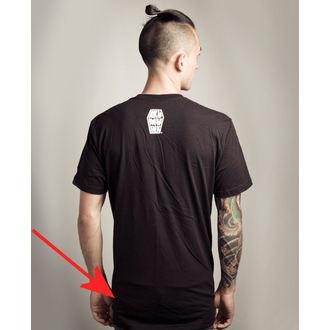 tričko pánske Akumu Ink - Skull13 - Grey- POŠKODENÉ