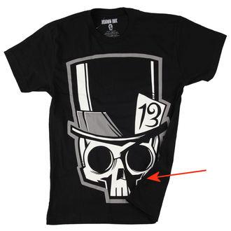 tričko pánske Akumu Ink - Skull13 - Grey- POŠKODENÉ, Akumu Ink