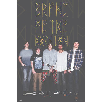 plagát Bring Me The Horizon - Group Black, GB posters, Bring Me The Horizon