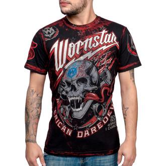 tričko pánske WORNSTAR - American Daredevil - WSUS-AMDD