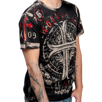 tričko pánske WORNSTAR - Believe - Black