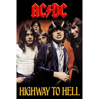 plagát AC/DC - Highway To Hell - GB posters, GB posters, AC-DC
